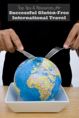 Top Tips and Resources for Successful Gluten-Free International Travel Title image