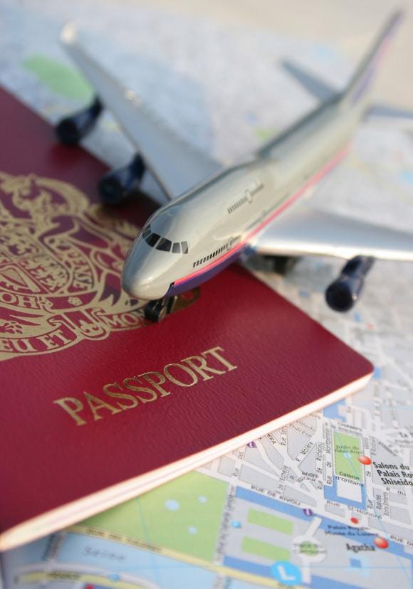 Passport Plane Map | BoulderLocavore.com