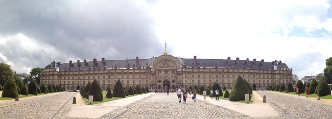 Army Museum Les Invalides  Paris - BoulderLocavore.com