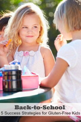 Back to School 5 Success Strategies for Gluten-Free Kids title image