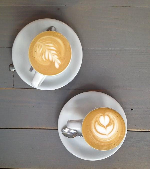 Cafe Creme at Cafe Strada Marais Paris - BoulderLocavore.com