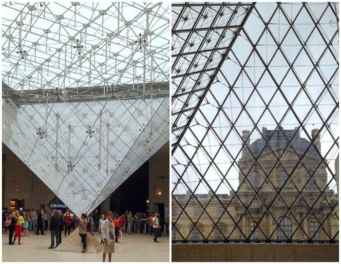 Louvre pyramids Paris - BoulderLocavore.com