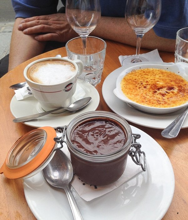 Mousse au chocolat et creme brulee en Paris - BoulderLocavore.com