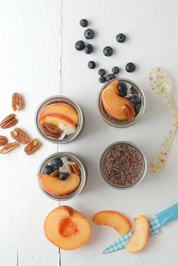 Overnight Quinoa Chia Breakfast Pudding - BoulderLocavore.com