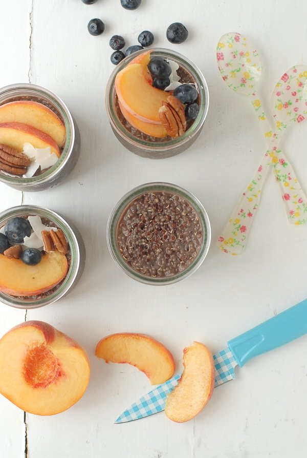 Overnight Quinoa Chia Chocolate Breakfast Pudding - BoulderLocavore.com
