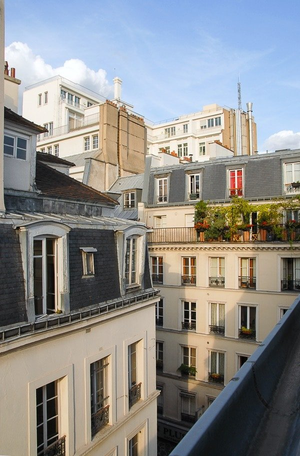 View from Tresor du Marais, Rue de Temple Paris - BoulderLocavore.com