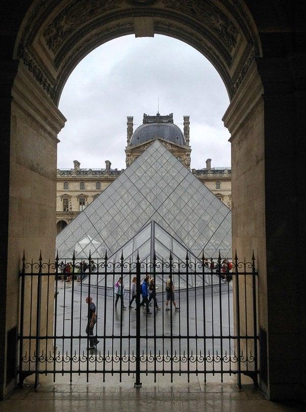 the Louvre pyramid - BoulderLocavore.com