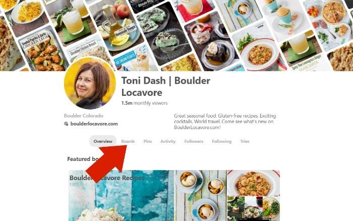 How to Create a Pinterest Board - screenshot