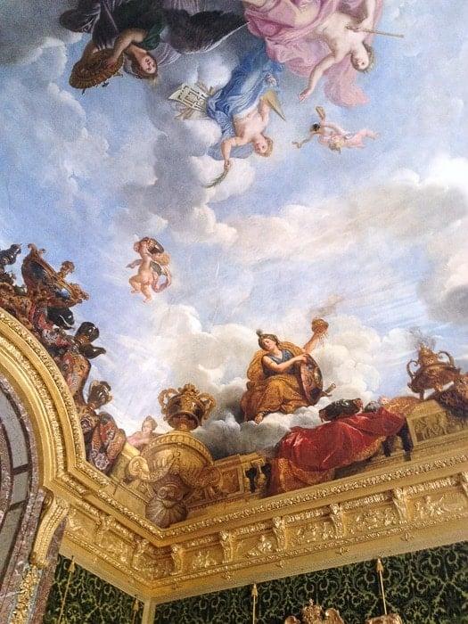 Ceiling Palace du Versailles - BoulderLocavore.com