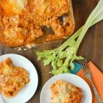 Irresistible Cheesy Buffalo Chicken Lasagna