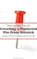 Creating a Pinterest Pin from Scratch: Photos & Collages with Link