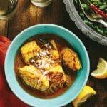 Kerala Fish Curry {meen moili} and The New Indian Slow Cooker Cookbook {giveaway}
