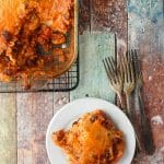 Mexican Lasagna with Hatch Chilies