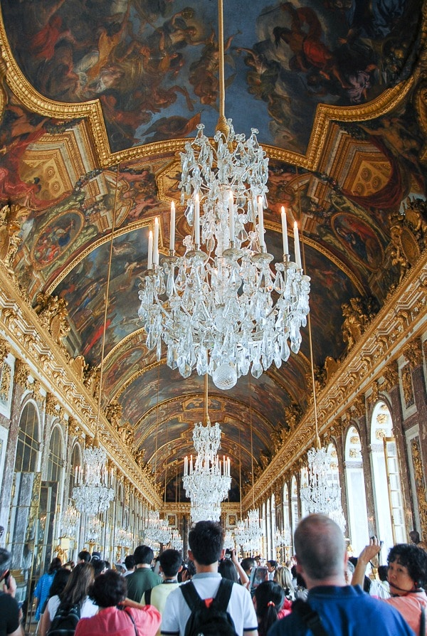Palace of Versailles Hall of Mirrors - BoulderLocavore.com