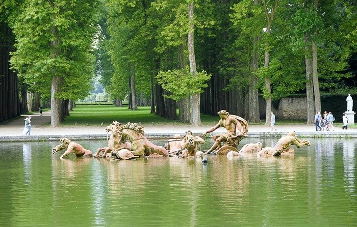 Palace of Versailles Poseidon Fountain - BoulderLocavore.com
