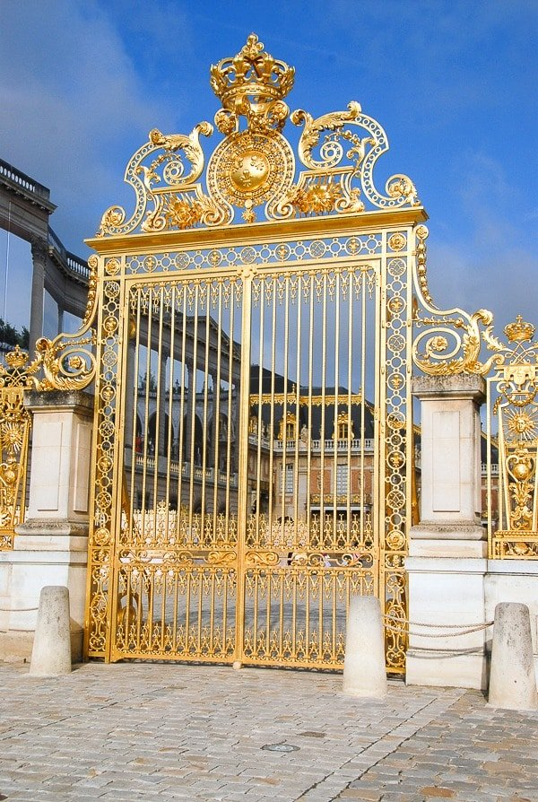 Palace of Versailles gate
