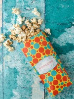Polka Dot Bag of Coconut Kettle Corn - BoulderLocavore.com