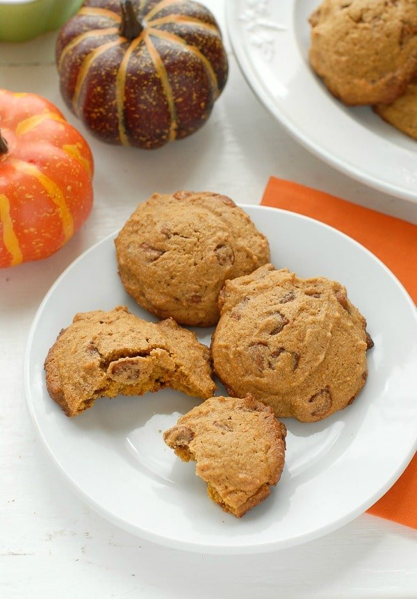 Pumpkin Spice Cinnamon Chip gluten-free cookies - BoulderLocavore.com