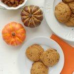 Pumpkin Spice Cinnamon Chip cookies {gluten-free}