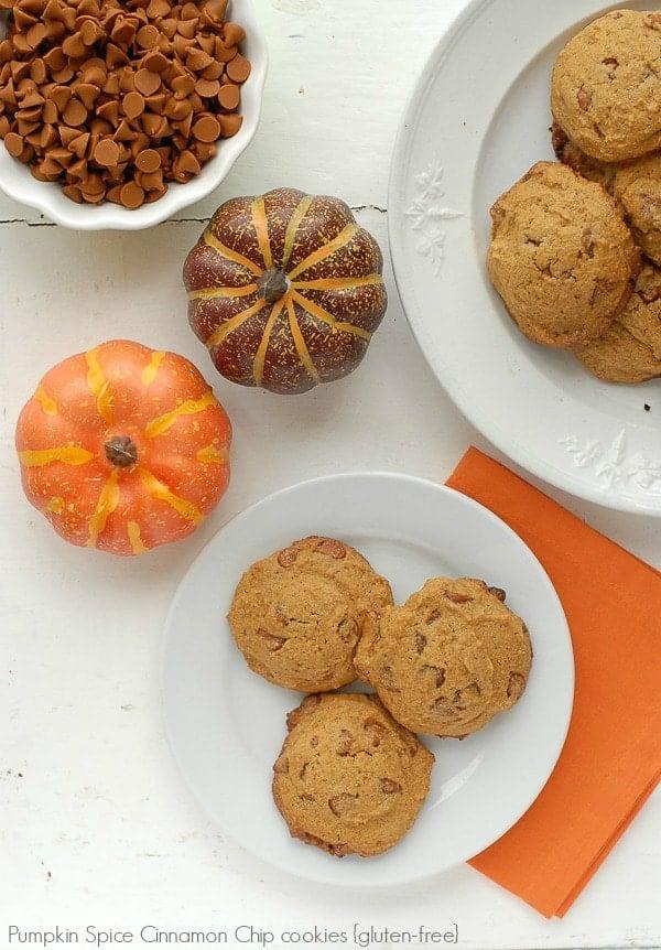 Pumpkin Spice Cinnamon Chip gluten-free cookies BoulderLocavore.com