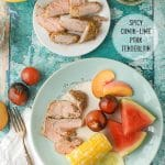 Spicy Cumin-Lime Pork Tenderloin