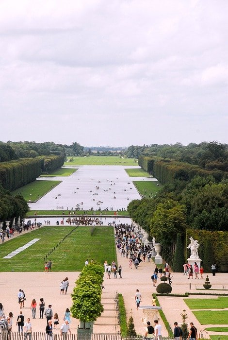 The Grand Canal - Jardin dul Versailles
