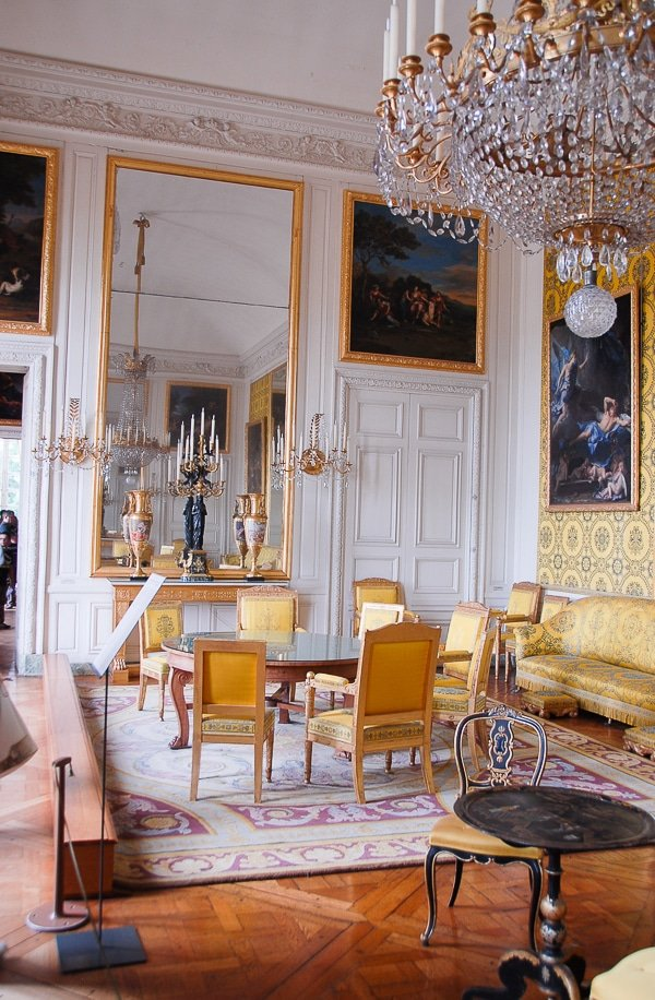 The Grand Trianon Versailles Yellow Room