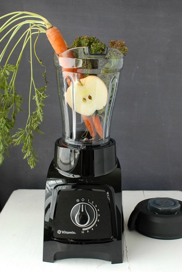 Vitamix S30 Personal Blender with 40 oz container vegetables - BoulderLocavore.com