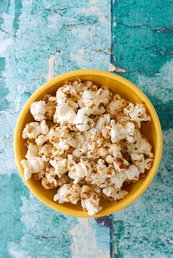 Yellow Bowl of Coconut Kettle Corn - BoulderLocavore.com