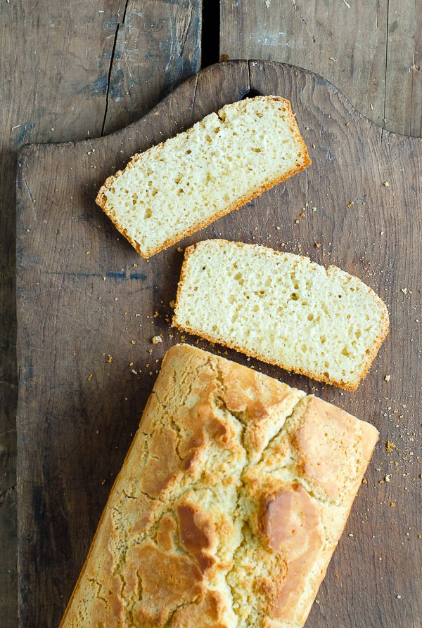 sliced beer bread