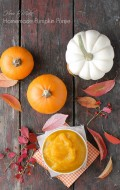 DIY Homemade Pumpkin Puree