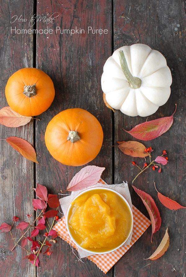 DIY Homemade Pumpkin Puree