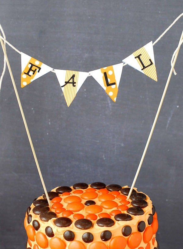 Fall Cake Pendants - BoulderLocavore.com
