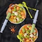 Freaky {Healthy} Halloween Salad