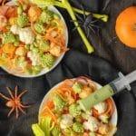 Halloween Salad: a Freaky Halloween Side Dish