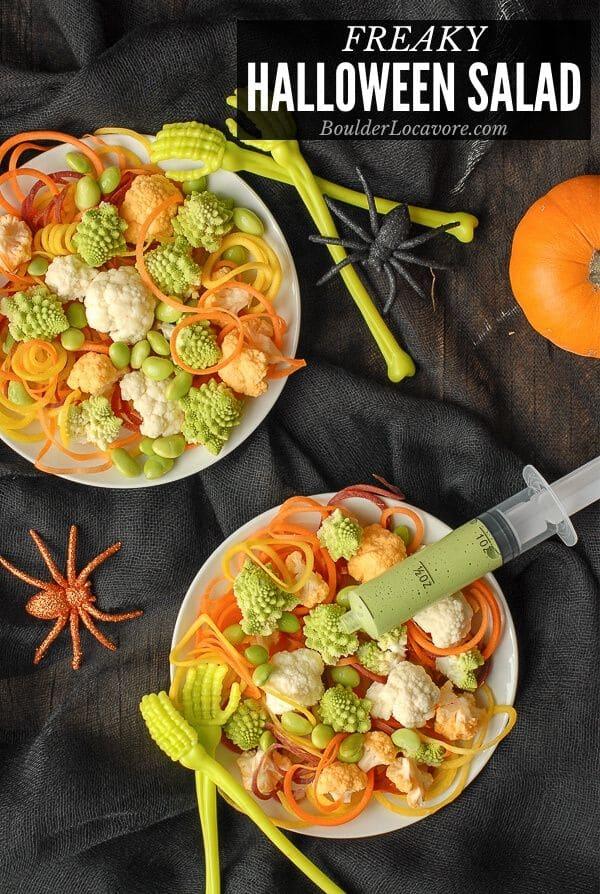 Halloween Salad title image