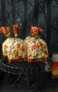 Orange-flavored Kettle Corn and Halloween Orange Kettle Corn Treat Mix