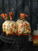 Orange-flavored Kettle Corn Halloween Treat Mix - BoulderLocavore.com