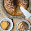 Pumpkin Spice Buttermilk Bundt Cake with Dark Salted Caramel Glaze -  BoulderLocavore.com 274p