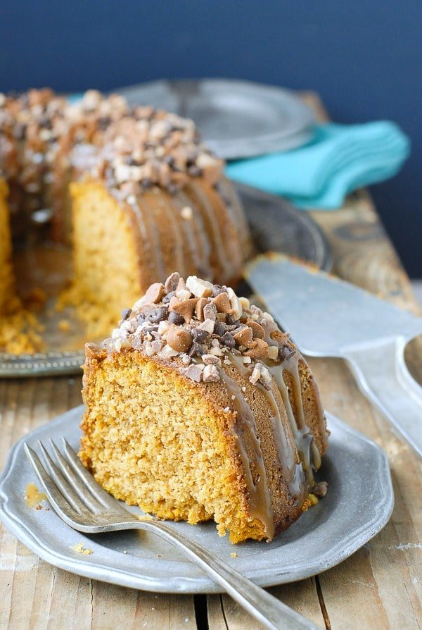 ... cake pumpkin spice bundt cake with buttermilk icing recipe yummly