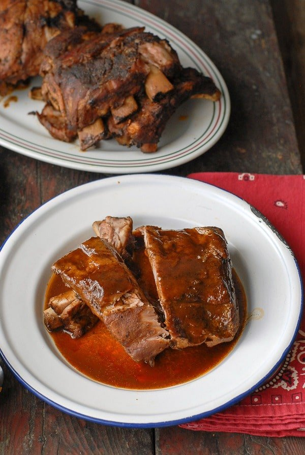 Slow Cooker Root Beer Baby Back Ribs - BoulderLocavore.com