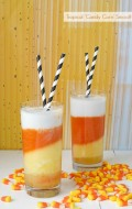 Tropical 'Candy Corn' Smoothie