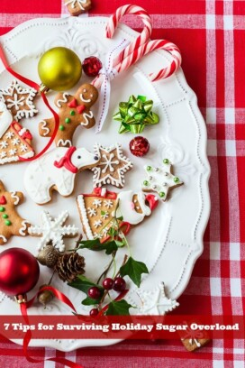 plate of decorated sugar cookies