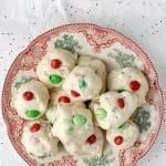 Mint M&M Forgotten Cookies {no bake gluten-free} - BoulderLocavore.com