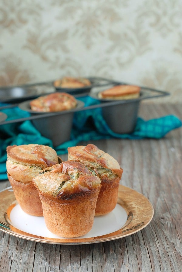 Rosemary Sage Thyme Popovers {gluten-free} - BoulderLocavore.com