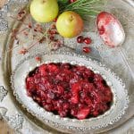 Slow Cooker Cranberry-Pear Sauce with Ginger & 100+ Gluten-Free Thanksgiving Recipes