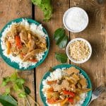 Slow Cooker Thai Red Chicken Curry with Coconut Milk - BoulderLocavore.com