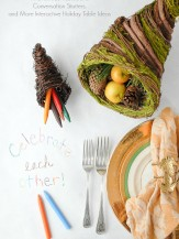 The Holiday Table: Gratitude Tablecloth, Conversation Starters and More | BoulderLocavore.com