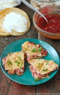 Turkey Cranberry-Chipotle Quesadillas. A great way to use Thanksgiving leftovers! - BoulderLocavore.com