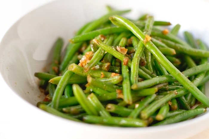 haricot vert (French green beans)